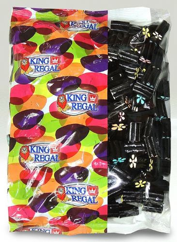 KR21 KING REGAL  LICORICE SHOOTERS 1KG